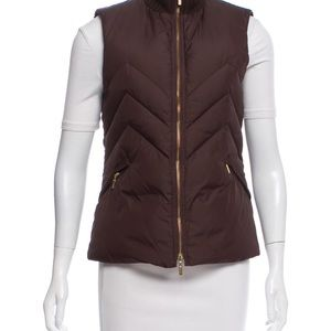 Tory Burch Down Zip-Up Vest